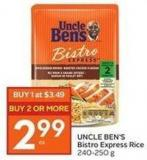 Uncle Ben's Bistro Express Rice 240-250 g