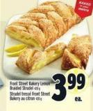 Front Street Bakery Lemon Braided Strudel 420 g