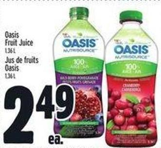 Oasis Fruit Juice