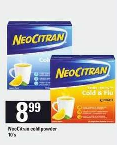 Neocitran Cold Powder - 10's