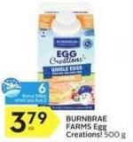 Burnbrae Farms Egg Creations! - 6 Air Miles Bonus Miles