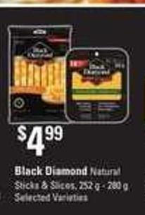 Black Diamond Natural Sticks & Slices - 252 G - 280 G