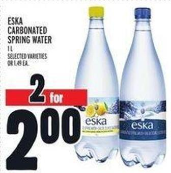 ESKA Carbonated Spring Water