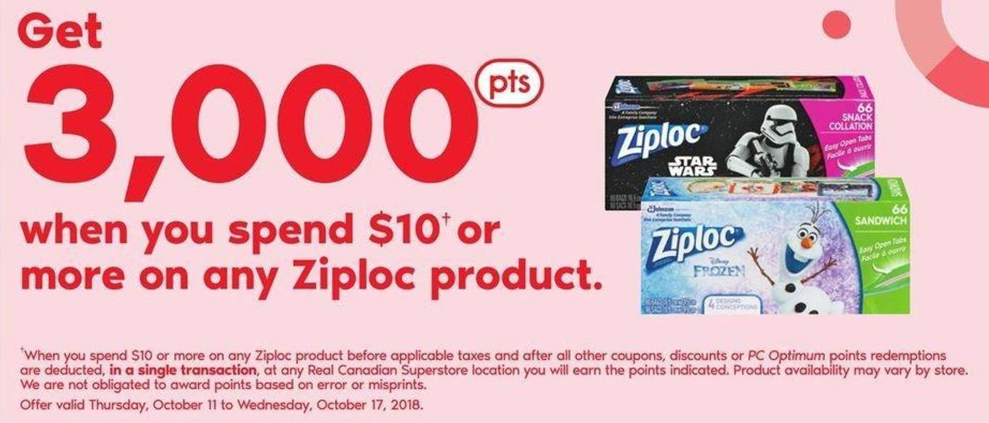 Ziploc Product