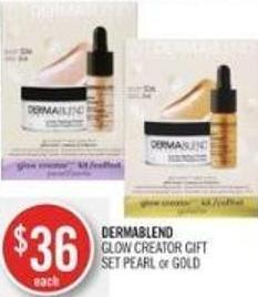Dermablend Glow Creator Gift Set Pearl or Gold