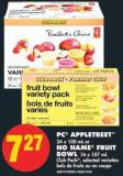 PC Appletreet - 24 X 100 mL or No Name Fruit Bowl - 16 X 107 mL