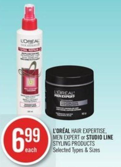 L'oréal Hair Expertise - Men Expert or Studio Line Styling Products