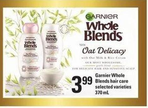 Garnier Whole Blends Hair Care - 370 mL