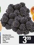 Blackberries - 170 g