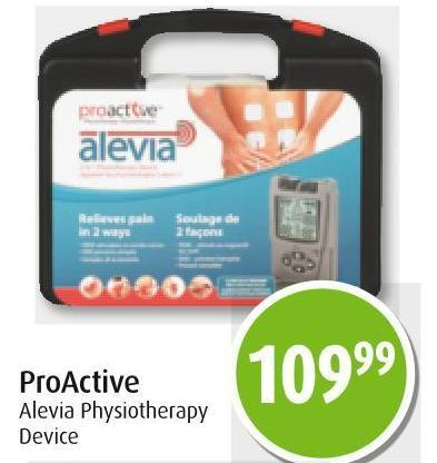 Proactive Alevia Physiotherapy Device
