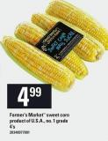 Farmer's Market Sweet Corn - 4's