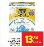 Tidy Cats Lightweight Cat Litter 5.44 Kg