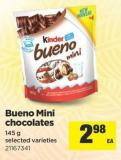 Bueno Mini Chocolates - 145 g