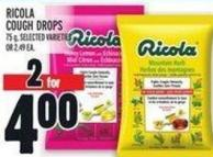 Ricola Cough Drops 75 g