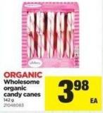 Wholesome Organic Candy Canes