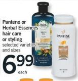 Pantene Or Herbal Essences Hair Care Or Styling