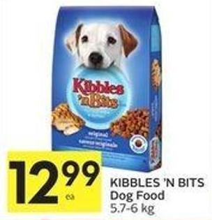 Kibbles 'N Bits Dog Food 5.7-6 Kg