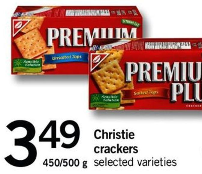 Christie Crackers - 450/500 G