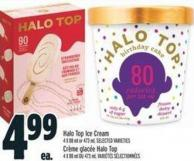 Halo Top Ice Cream 4 X 88 ml or 473 ml