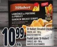 St-hubert Breaded Chicken Frozen - 650 - 700 g