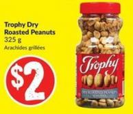 Trophy Dry Roasted Peanuts 325 g
