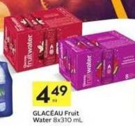 Glacéau Fruit Water