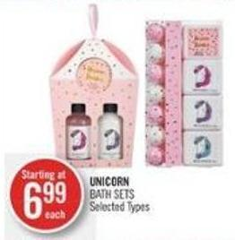 Unicorn Bath Sets