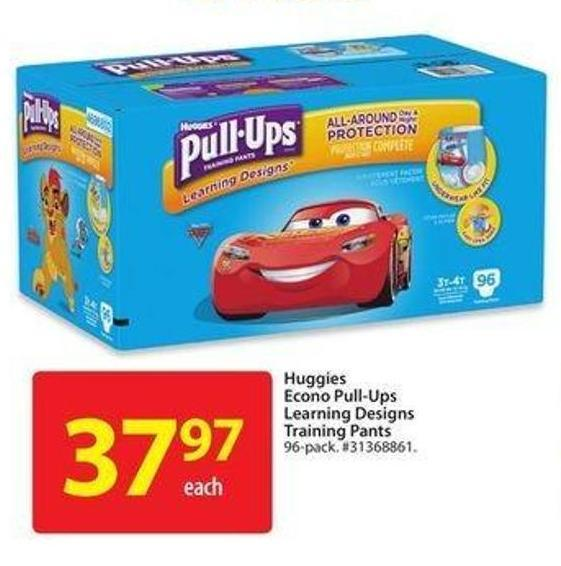 Huggies Econo Pull-Ups Learning Designs Training Pants