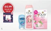 Secret Outlast & Olay Holiday Pack