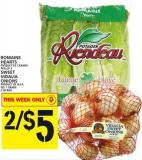 Romaine Hearts Or Sweet Vidalia Onions