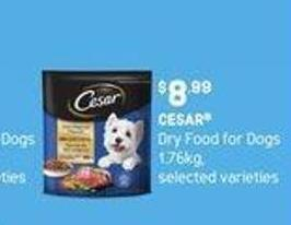 Cesar Dry Food For Dogs - 1.76kg