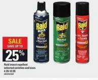 Raid Insect Repellent