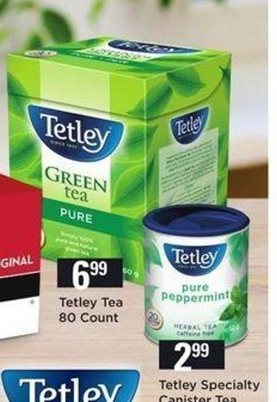 Tetley Tea - 80 Count