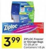 Ziploc Freezer or Storage Bags