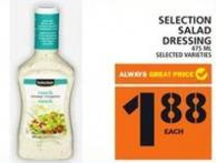 Selection Salad Dressing
