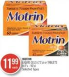 Mortin Liquid Gels (72's) or Tablets (45's-90's)