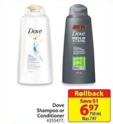 Dove Shampoo or Conditioner