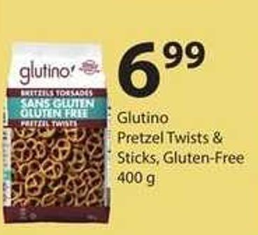 Glutino Pretzel Twists & Sticks - Gluten-free