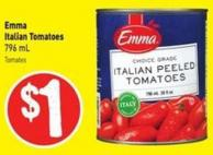 Emma Italian Tomatoes 796 mL