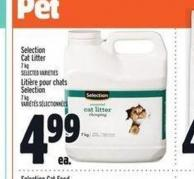 Selection Cat Litter
