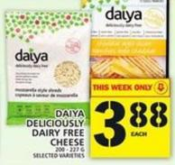 Daiya Deliciously Dairy Free Cheese