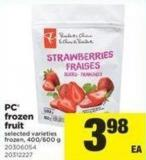 PC Frozen Fruit - 400/600