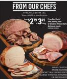From Our Chefs Beef - Turkey - Ham Or Chicken Artisan Style Deli Meat Roasts