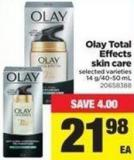 Olay Total Effects Skin Care - 14 G/40-50 mL