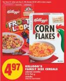 Kellogg's Family Size Cereals - 515-765 g