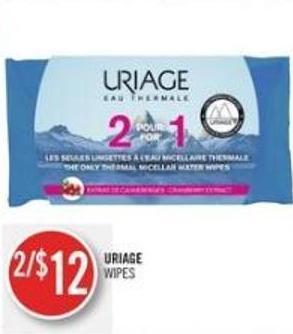Uriage Wipes