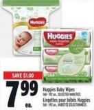 Huggies Baby Wipes 168 - 192 Un. -