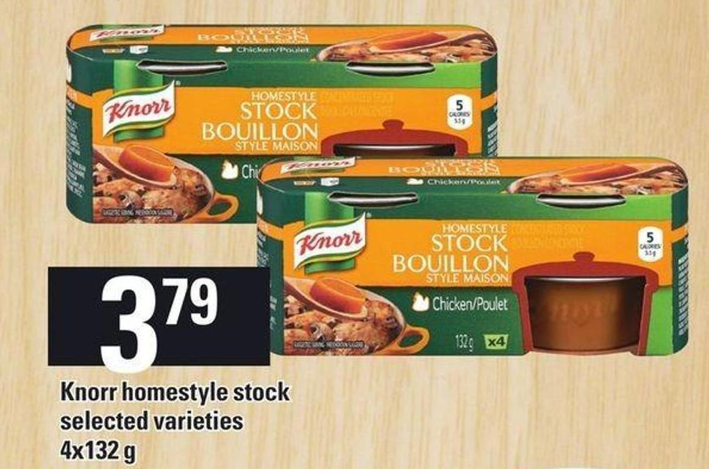 Knorr Homestyle Stock - 4x132 g