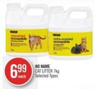 No Name  Cat Litter 7kg