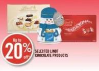 Selected Lindt Chocolate Products
